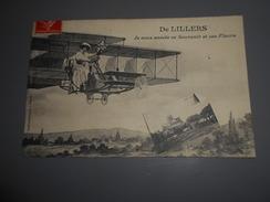 D . 62 - LILLERS (pas De Calais ) Je Vous Envoie Ce Souvenir Et Ces Fleurs De Lillers - Lillers