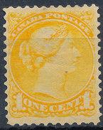 Stamp Canada 1870 1c Used - 1851-1902 Victoria