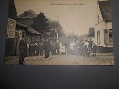 D . 62 - Saint Hilaire Cottes (pas-de-calais) Rue De L'église - France
