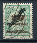 19200) DEUTSCHES REICH Dienst # 87 Gestempelt Aus 1923, 200.- € - Dienstpost