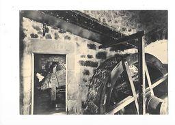 AMBERT  (cpsm 63)  Moulin à Papier Richard-de-Bas, La Vieille Roue Et La Salle Des Piles à Maillets -    - L 1 - Ambert