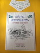 5639 - Stäfner Bootshuuswy Stäfner Clevner Suisse - Etiquettes
