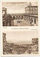 X755 Cassino (Frosinone) - Abbazia Di Montecassino - Loggia Del Paradiso - Pro Ricostruzione Abbazia / Non Viaggiata - Altre Città