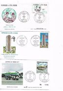 IVORY COAST 1977-80 Three Different FDC UNUSED - Costa D'Avorio (1960-...)