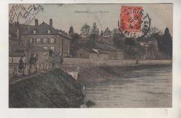 CHARLEVILLE - La Verrerie - Carte Colorisée - Edition Rousseaux - Charleville