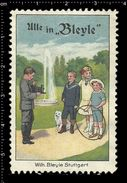German Poster Stamps, Reklamemarke, Vignette, Photography, Photo, Camera, Dog, Fotografie, Foto, Kamera, Hund, Bleyle - Photography
