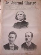 Gravure 1886   Les Hommes Du Jour  Trois Musiciens Portraits LISTZ  Le Comte Zichy  Edmond Audran - Estampes & Gravures