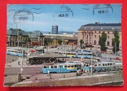 S2- Postcard Sweden -Goteborg,Drottningtorget,Tram,Tramway - Svezia