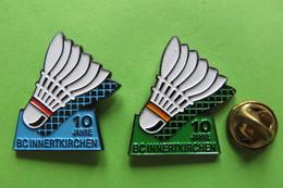 2 Pin's, Badminton, BC Innertkirchen, Suisse, Volant, Limité 500 - Badminton