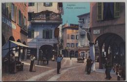 Lugano - Piazza Commercio, Manifatture Sartoria, Animee - Photo: E. Goetz - TI Tessin