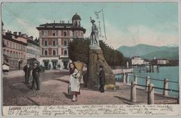 Lugano - Quai, Telldenkmal - Animee - Photo: Carl Künzli - TI Tessin