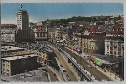 Lausanne - Le Grand Pont Et La Tour Bel-Air - Photo: C. Sartori - VD Waadt
