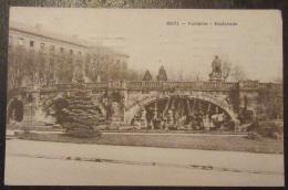 Metz - Fontaine - Esplanade - Timbre YT N°135 - Cachet 1922 - Metz