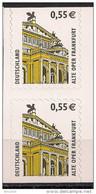 2002 Allem. Fed. Yv. 2131a Mi.  2304 BC BD **MNH  Alte Oper Frankfurt - [7] République Fédérale