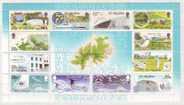 St Helena - 2003 Tourism - Minisheet Mint ** - St. Helena