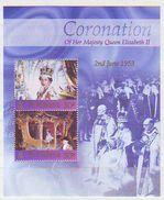 St Helena - 2003 The 50th Anniversary Of The Coronation Of Queen Elizabeth II  - Minisheet Mint ** - St. Helena