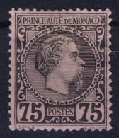Monaco:  Mi 8  MH/* Flz/ Charniere  1885 - Monaco