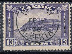 Stamp Canada  1935 13c Used - 1911-1935 Règne De George V