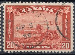 Stamp Canada  1930 20c Used - 1911-1935 Règne De George V