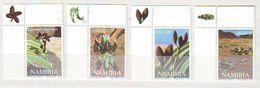 Namibia - 2000 Welwitschia Mirabilis, Prehistoric Plant  - 4 V.- Mint ** - Namibia (1990- ...)