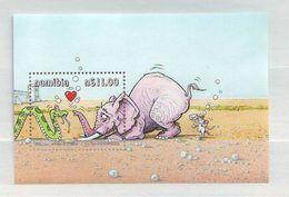 "Namibia - 2000 ""Yoka The Snake"" Cartoon - Minisheet - Mint ** - Namibia (1990- ...)"