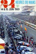 24 Heures Du Mans 1969 - Carte Photo Moderne - Le Mans