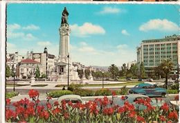 Portugal & Circulated, Marques De Pombal Square, Lisbon To Lourenço Marques Moçambique 1966 (755) - Monumentos