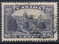 Stamp Canada  1935 50c Used - 1911-1935 Règne De George V