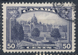Stamp Canada  1935 50c Used - 1911-1935 Reign Of George V