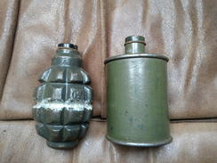 F1 + RG42 Grenade Neutralisé...  Zunden Fusee Projektil Obus - Armes Neutralisées