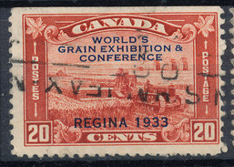 Stamp Canada  1933 20c Used - 1911-1935 Reign Of George V