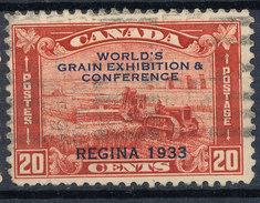Stamp Canada  1933 20c Used - 1911-1935 Règne De George V