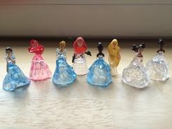 Lot De Figurines Princesses Disney - Cendrillon Ariel Raiponce Rebelle Belle Tiana Blanche Neige - Disney