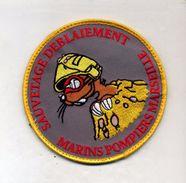 Ecusson Marins Pompiers Marseille - Pompieri