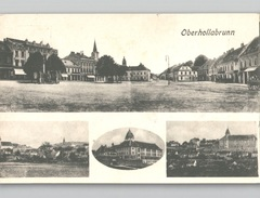 OBERHOLLABRUNN Mehrbildkarte Panorama Um 1908 - Hollabrunn