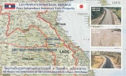 Laos, Improvement Of The National Road 9 , 2002, MNH VF - Laos