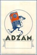 N7368/ ADZAM Tube Radio  Reklame AK 1925 Belgien - Advertising