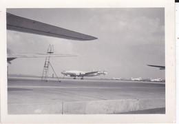 MINI-PHOTO----aérodrome--avions ---voir 2 Scans - Photographie