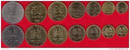 Tajikistan Set Of 7 Coins: 1 Diram - 1 Somoni 2011 UNC - Tadjikistan