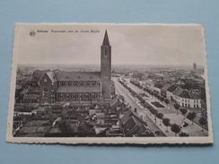 Panorama Met De Grote Markt ( Huis Blondine ) Anno 19?? ! - Zelzate
