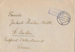 FELDKIRCH (VORARLBERG) → Brief Nach St.Gallen/Schweiz 1947  ►violetter Stempel BEZAHLT◄ - 1945-60 Brieven