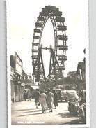Wien Prater Mit Alten AUTOS Und Leben Fotokarte Um 1930 - Prater