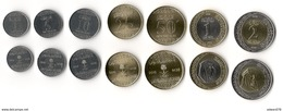 Saudi Arabia 2016 Coins 1 2 Riyals 50 25 10 5 1 HALALAS UNC Complete Set Of 7 - Saudi Arabia