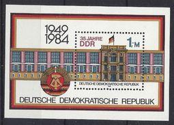 Germany (DDR) 1984  35 Jahre DDR (**) MNH  Mi.2890 (block 77) - DDR