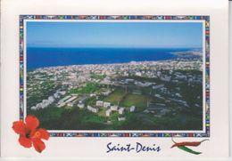 974 - ILE DE LA REUNION  -  VUE AERIENNE DE ST DENIS - STADE DE LA REDOUTE VUE DE LA ROUTE DE LA MONTAGNE - Saint Denis