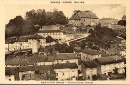 55 BAR-LE-DUC GRANDE GUERRE 1914-1918  VUE SUR L'ANCIEN CHATEAU - Bar Le Duc