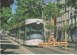 Tramway Flexity Bombardier (ligne 2), à Marseille (13) - - Tramways