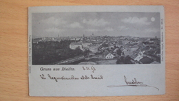 POLONIA POLLAND POLSKA POST CARD FROM BIELITZ Bielsko-Biała SLESIA - Polonia