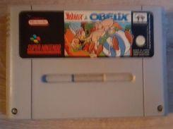 Astérix & Obélix - Jeu De Super Nintendo Testé - Fonctionne Nickel - Electronic Games