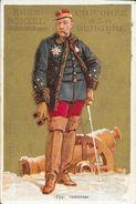 CHROMO CHICOREE A LA BERGERE   -  EMILE BONZEL   -  HAUBOURDIN   (Nord)  -    N° 134 -   FAIDHERBE - Other